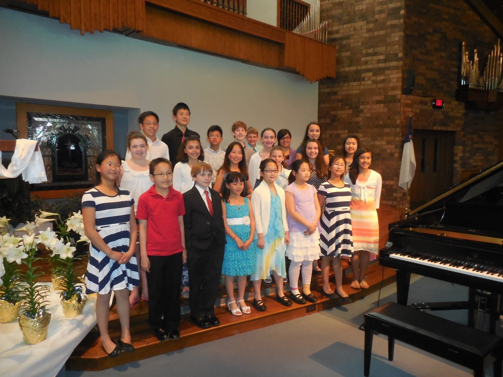 Honors Recital 2014